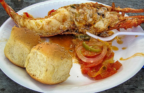 Portofino Belize Lobster Lunch