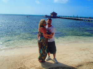 Mark and Sondra Davis, 10th Anniversary Portofino Belize
